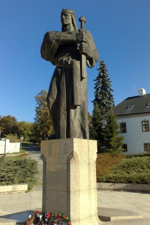 Prince Pribina Statue