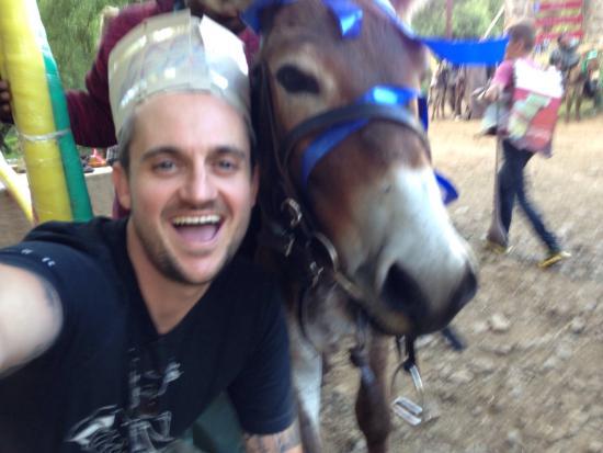 Semonkong Lodge : Donkey selfie