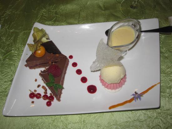 Noyant-de-Touraine, Francja: Le dessert