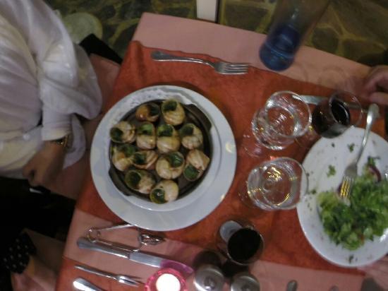 La Taverne : Scargot de entrada estava muito bom