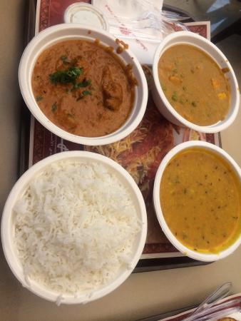 Indian Palace: Our lunch