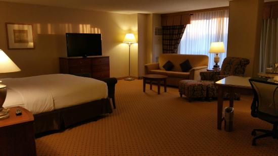 Hilton Washington Dulles Airport Junior Suite