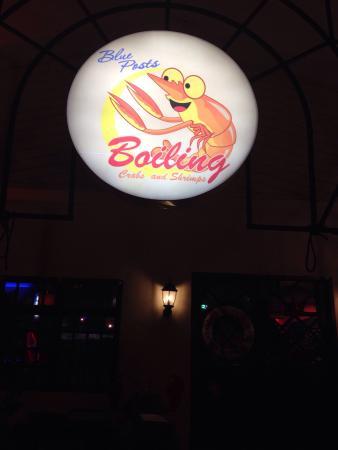 Blue Post Boiling Crabs and Shrimps: Boiling crab & shrimp