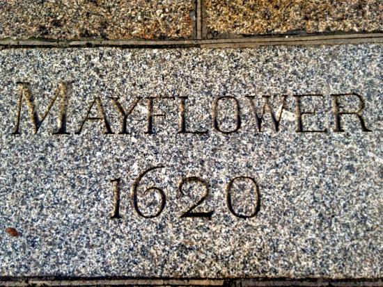 Mayflower Steps : Mayflower Plaque