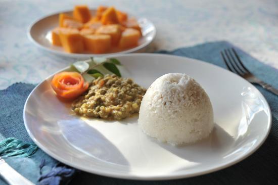 Pathiramanal Villas : TRADITIONAL KERALA FOOD