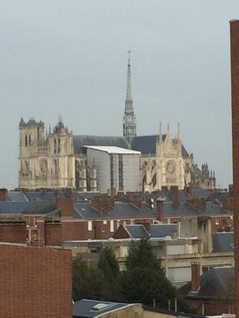 Ibis Amiens Centre Cathedrale: View of cathedrale from 4th floor.