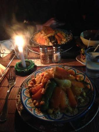 Restaurant Daffy : Couscous aux légumes