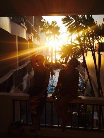 Boracay Ocean Club Beach Resort: 로비 가는길