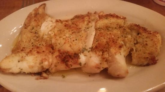 Armstrong's Restaurant: Garlic Fish.