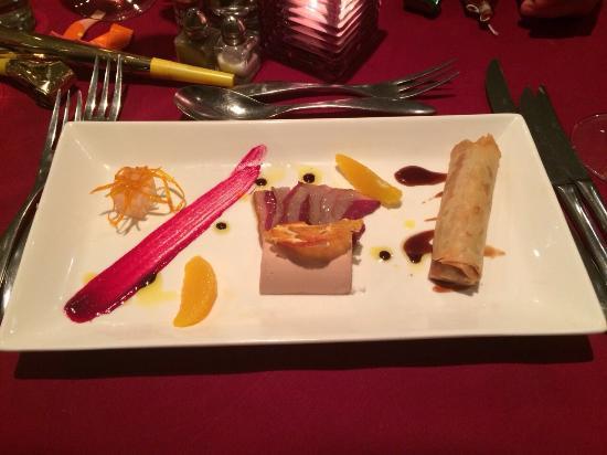 Mirabelle Restaurant: Assiette de canard
