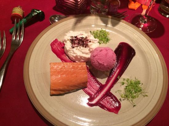 Mirabelle Restaurant: Saumon fumee