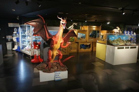 Kaiyodo Figure Museum Kurokabe Ryuyukan : ドラゴン