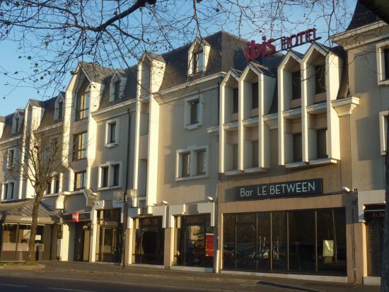 Ibis Caen Centre: la façade
