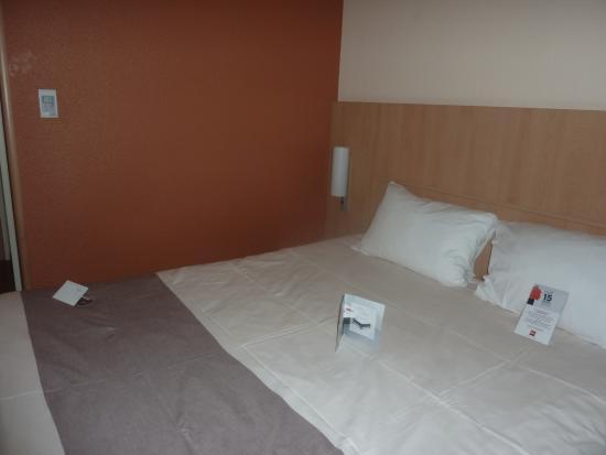 Ibis Caen Centre: le lit