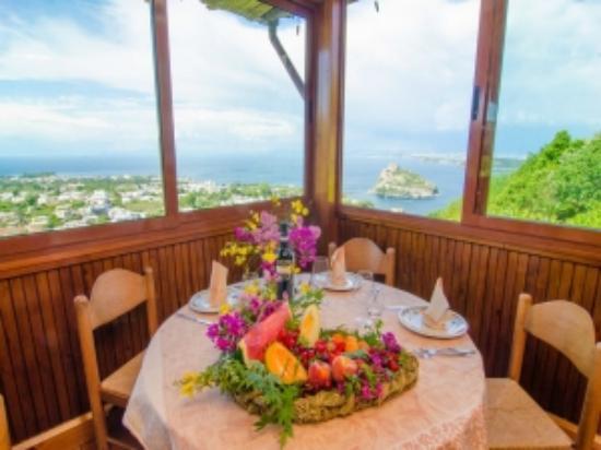 Hotel La Capannina: La terrazza Panoramica