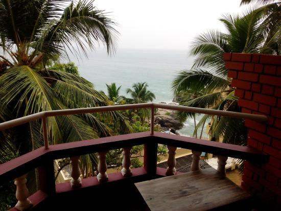 Vijay Varma Beach Resort: View from balcony