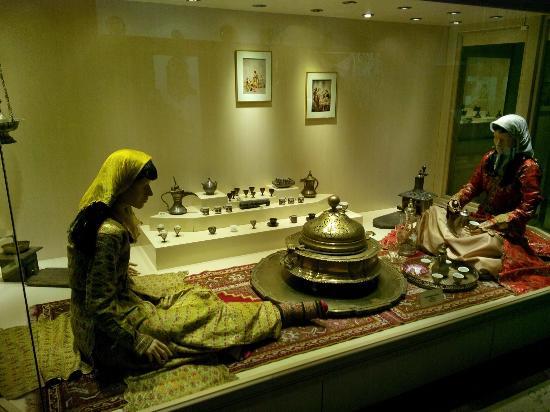 Ethnography Museum : Kahve kültürü :-)