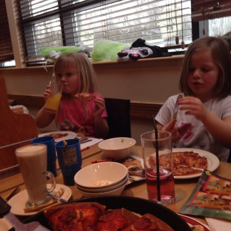 Big Pizza For Little Girls Picture Of Pizza Hut