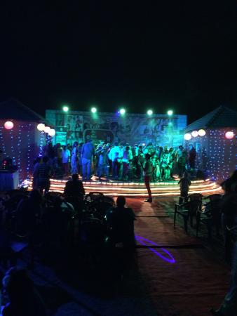 Vijayshree Resort & Heritage Village,Hampi: New year celebration evening