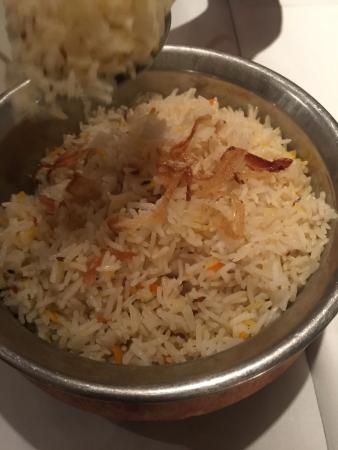Khan's of Kensington: A very well done pilau rice