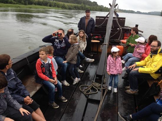 balade en gabarre sur la Loire