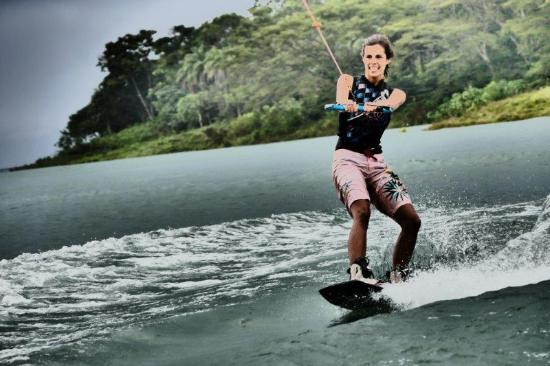FlyZone Wakeboard School: First time behind a motorboat