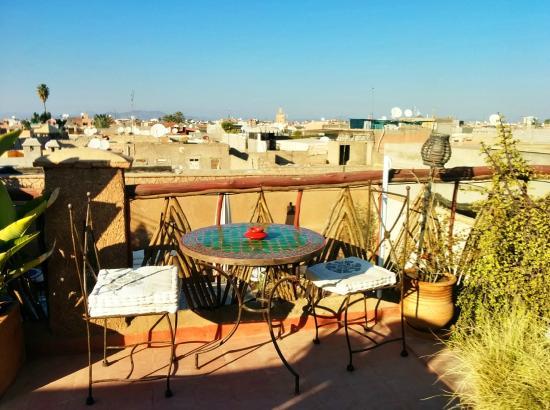 Riad Nomades: Terrasse au soleil