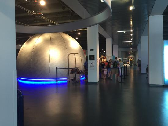 Museum of Discovery and Science: Planetarium