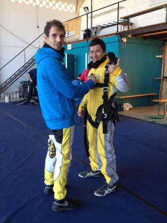 Skydive Algarve : Thanks Bruno!