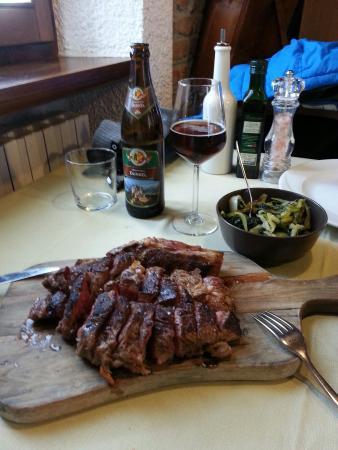 """Ristorante La Grotta di Tufo: Chef sempre grandioso e abbinamento con la """"bavarese"""" perfetto!"""