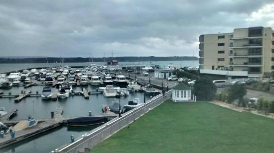 Salterns Harbourside Hotel : View from room 202