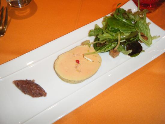 Restaurant les Marronniers: foie gras