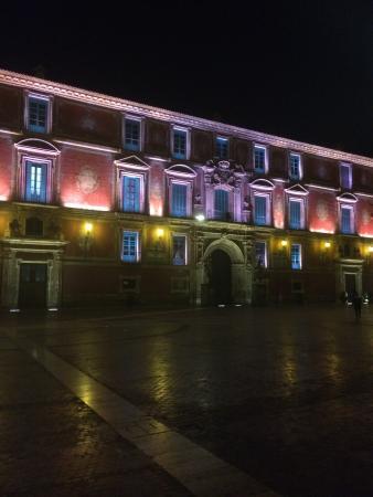 Palacio Episcopal de Murcia: By night
