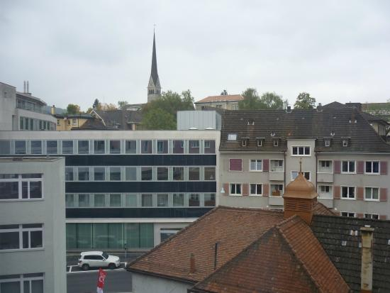 Sternen Oerlikon Hotel: Вид из окна