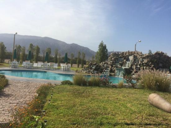 Casa Hacienda Nasca Oasis: La piscina