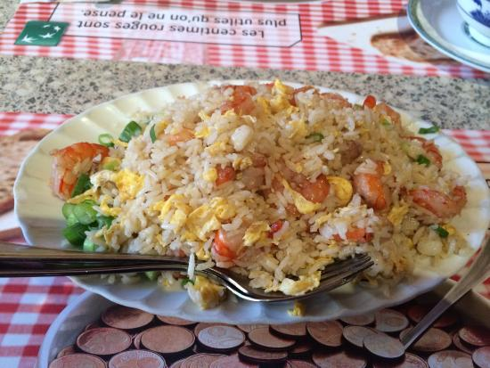 Chao Chow City: Very good fried rice!