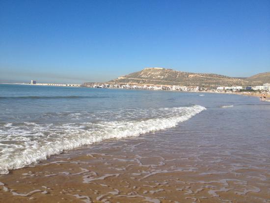 Hotel Timoulay & Spa Agadir: Agadir beach