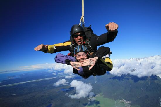 Skydive Fox Glacier