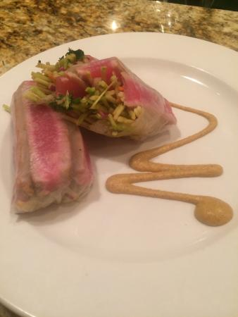 Seared tuna spring roll. - Picture of Back Alley Bistro, Decatur ...