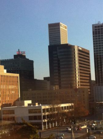 Doubletree Hotel Tulsa-Downtown: View from room