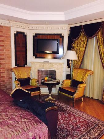 Xheko Imperial Hotel : Sit-down area