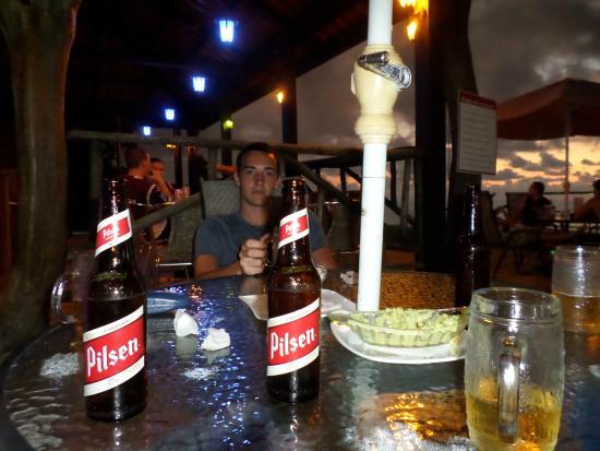 Vista Ballena Hotel: Nice beer