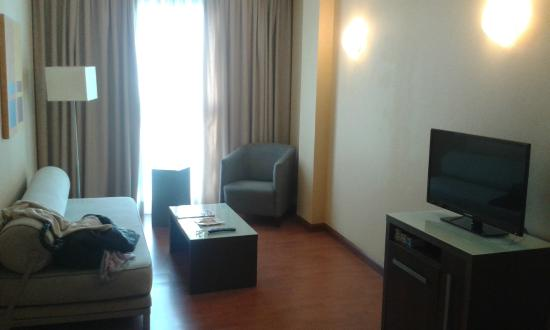 Hotel Vertice Sevilla : Saloncito 1