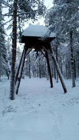 Muonionalusta, Swedia: Kyrkstapeln
