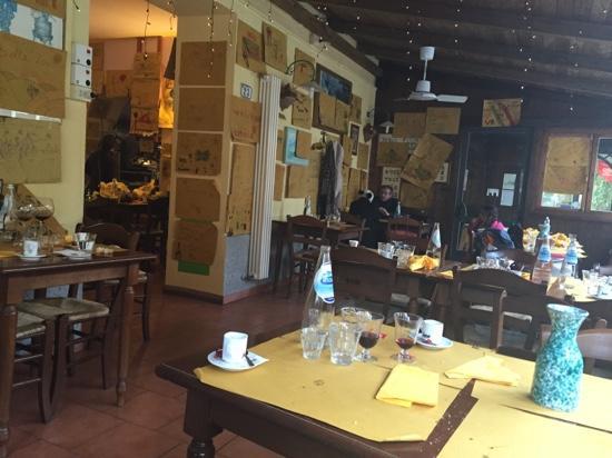 Osteria Ristorante San Vivaldo : il locale