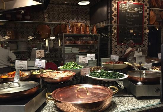 Bond  Italian Kitchen Steak And Seafood New York Ny