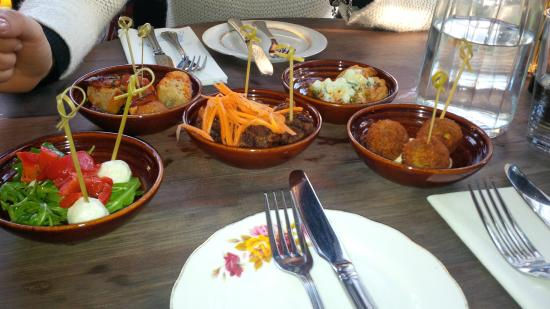 The Barking Dog Restaurant Belfast: Tapas