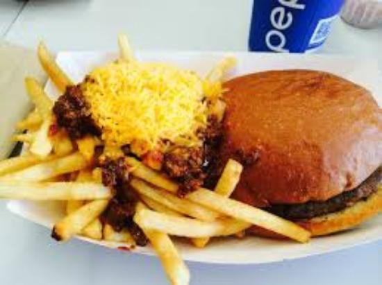 Osakis, MN: Tip Top Burger and Fries