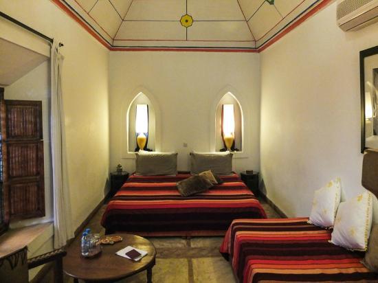 Riad Villa El Arsa: Chambre royale