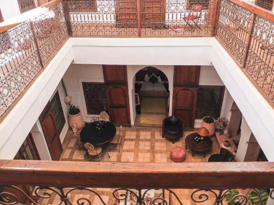 Riad Villa El Arsa: Courtyards
